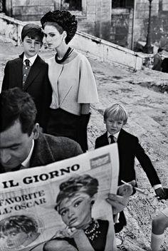 photo by Frank Horvat for Harper's Bazaar; Rome, 1962