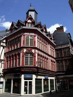 Rouen,  #France #beautifulplaces