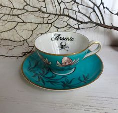 Your Dark Palace: Poison Tea Cup and Saucer by Austin Modern. $38.00