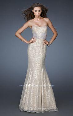 La Femme 18452 Vestido - MissesDressy.com
