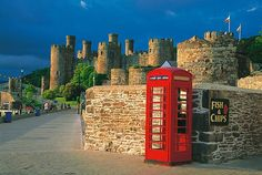Conway Castle ~ Conway, Wales ~ Built bet. 1283 -1289