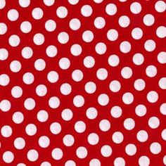 Fabric Minnie Ta Dot from Michael Miller by SouthernSeamsFabrics, $8.75