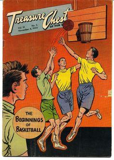 Very Rare Treasure Chest Vol. 10 No. 5 Comic Book Nov 4, 1954 Good Condition Vtg