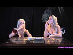 Holly and Natasha smoking 2 - YouTube