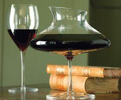 Wine Decanter by artist Patrik Illo for Napa Style