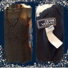 Gianni Versaceknee Elegant Dress