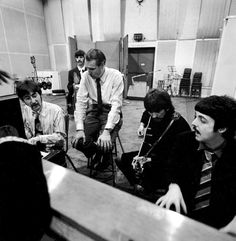 with Sir George Martin