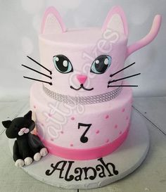 Kitten, Cake, Cakes You are in the right place about simple birthday cake Here we offer you the most beautiful pictures about the birthday cake funny you are looking for. When you examine the Kitten, Kitten Cake, Kitten Party, Cat Party, Puppy Birthday Cakes, Birthday Cake For Cat, Birthday Kitty, Diy Birthday, Birthday Ideas, Birthday Cards
