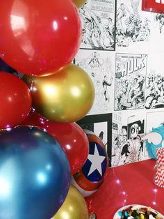 Organiser un anniversaire Marvel - SabrinaBerrich Costume Thor, Anniversaire Harry Potter, Lets Celebrate, Diy Organization, Marvel, Organiser, Party, Leftover Fabric