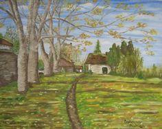 toamna la Bocsa in gara - ulei pe carton Birthdays, Painting, Art, Anniversaries, Art Background, Painting Art, Kunst, Paintings, Performing Arts