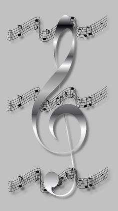 New Music Artwork Instruments Ideas Music Note Symbol, Music Notes Art, Music Symbols, Music Drawings, Music Artwork, Art Music, Violin Music, Music Crafts, Music Decor