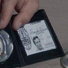 Frank Columbo is the name written on the badge. It is found in the 1971 episode…