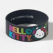 black hello kitty bracelet