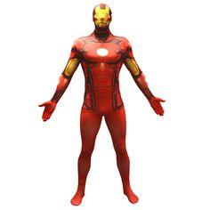 Morphsuit Adults' Basic Marvel Iron Man #kostüm #IronMan