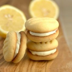 My mother's lemon fork biscuits (with lemon cream cheese filling) from Fuss Free Flavours