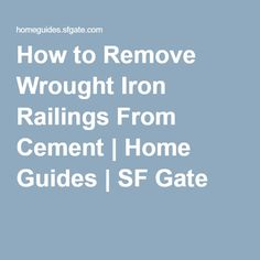 How To Build Faux Columns To Enclose Wrought Iron On My