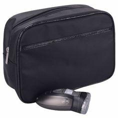 Mens Toiletry Bag, Black