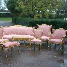 Pink French Furniture design inspiration on Fab.