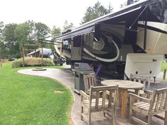 RV Patio Site At The Bellefonte/State College KOA Holiday