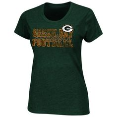Green Bay Packers Ladies More Than Enough T-Shirt - Green