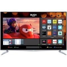 Buy Bush 40 Inch 4K UHD Freeview HD Smart LED TV at Argos.co.uk, visit Argos.co.uk to shop online for Televisions