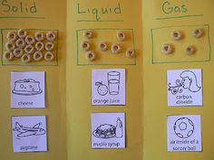 solids, liquids, and gases plus more great science stuff!!!