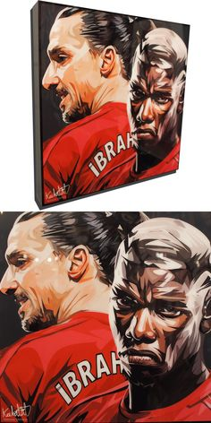 Manchester United Poster, World Cup Draw, Pop Art Posters, Paul Pogba, Wood Plaques, Black Backgrounds, Pop Culture, Art Pieces, The Unit