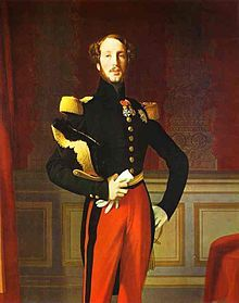Ferdinand Philippe of Orleans (1810 - 1842). Son of Louis Philippe I and Marie Amalie of Bourbon-Sicilies. He married Helene of Mecklenburg-Schwerin and had two sons.
