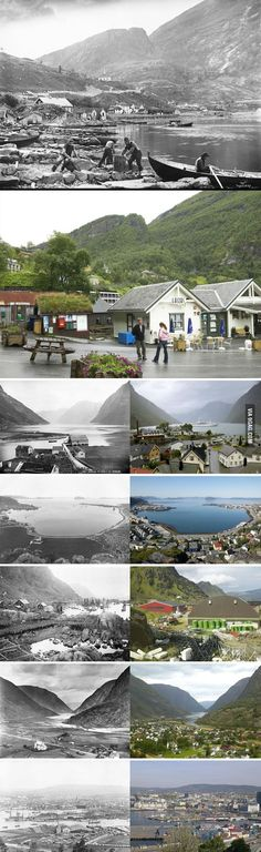 Norway then and now - 9GAG