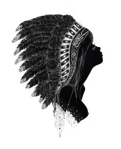 sophisticated-simplicities:    headdress (by charmaine olivia)