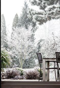 EISZEIT!!! | SoLebIch.de, Foto: Never talk to a #terrasse #garten #garden #winter