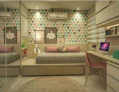 Muito amorzinho ❤️ autoria de Jobar Arquitetura | @decorcriative ✨ @lorefelima bedroom ideas for small rooms | bedroom ideas for girls | bedroom ideas for couples | bedroom ideas for men | room decor ideas diy | modern bedroom designs