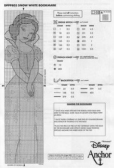 Part 02- Bookmark Snow white (Total 2 parts)
