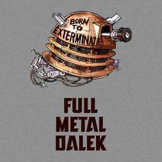Full Metal Dalek (w/ Title)
