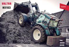 Valtra NX163 bei der Bodenbearbeitung