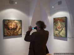 Zbyšek Sion vystavuje OBRAZY v V Galerii U Bílého jednorožce v Klatovech | Šumava Net.CZ Flat Screen, Blood Plasma, Flatscreen, Dish Display