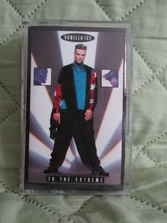 Vanilla Ice To The Extreme Cassette Tape 1990