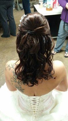 Hair. Updo, Curls and Braid 2/2