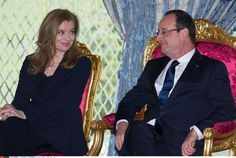 Valérie Trierweiler en 2013French President Francois Hollande with his partner Valerie Trierweiler attend the Signing Ceremony at the king's Palace in Casablanca, MOROCCO-03/04/2013. French President Francois Hollande is on a two-day visit to Morocco. /NIVIERE_080.NIV/Credit:NIVIERE/SIPA/1304040205