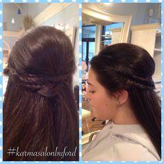 #karmasalonbuford #redkenobsessed #pureologyperfection #karmasalonspabuford #beautifulhair