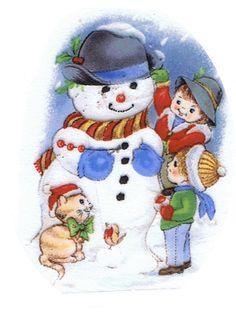 Christmas Snowman | snowman, kids, children, winter, christmas, pottery