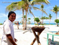 Tiempo para una barbacoa en las Filipinas