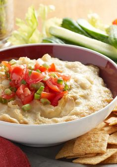 Hot Parmesan-Artichoke Dip – There was a time when this amazing dip, in all its hot Parmesan and artichoke goodness, hadn't been invented. Glad we don't live in that time.