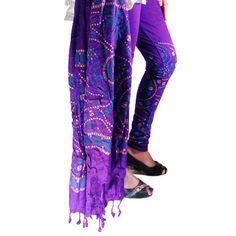 Buy Fashion LifeStyle Purple Cotton Legging With Dupatta by Fashion LifeStyle, on Paytm, Price: Rs.489?utm_medium=pintrest