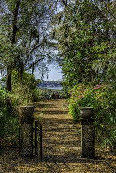 ~Pritchard Park, Bluffton Riverfront Pocket Park and Garden, Bluffton, South Carolina~