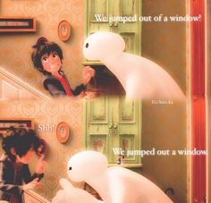 Lol this is from Big Hero 6! It's my favorite movie. It's out in the theaters November 7...See it while you can!