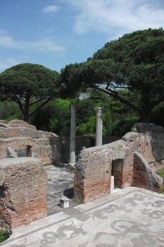 Rome Ostia Antica