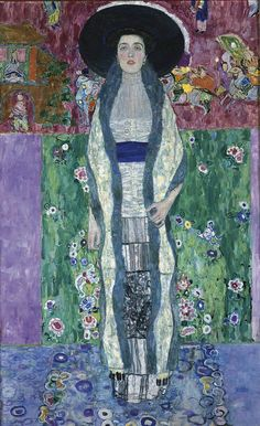 "Portrait of Adele Bloch-Bauer II ,"" by Gustav Klimt. The 1912 painting, which sold in Nov. 2006 for $ 87,936,000 (Post- Impressionist)"