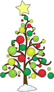christmas tree in snow clipart photo images and cartoon pictures rh pinterest com christmas tree clipart free christmas tree clipart images