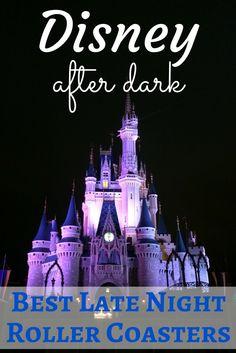 Disney After Dark: Magic Kingdom Rollercoasters Thrill